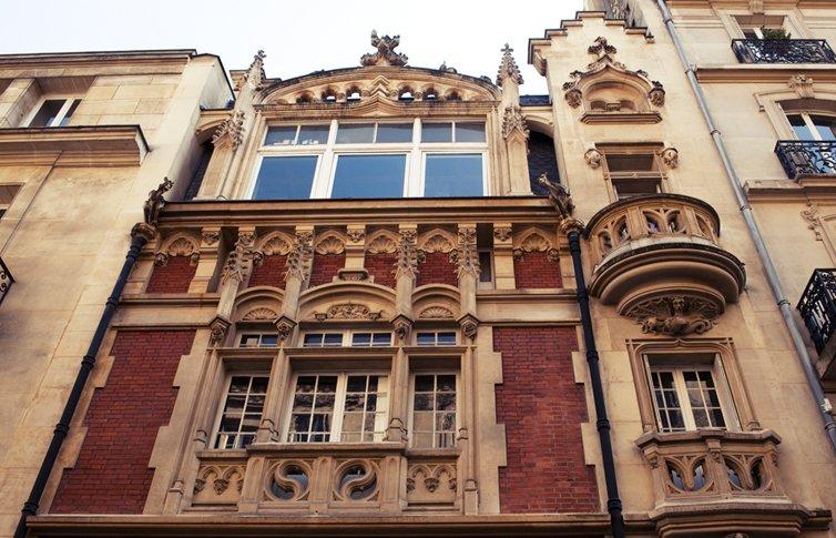 Façade du Campus de l'ESP Paris
