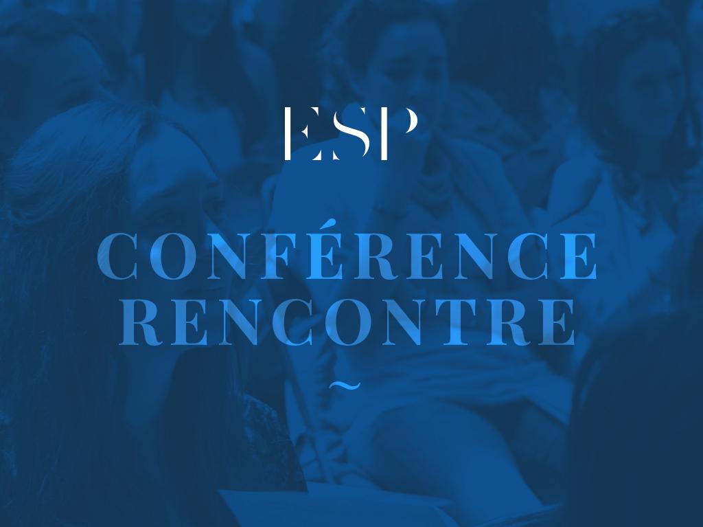 Conférence rencontre à l'ESP Lyon