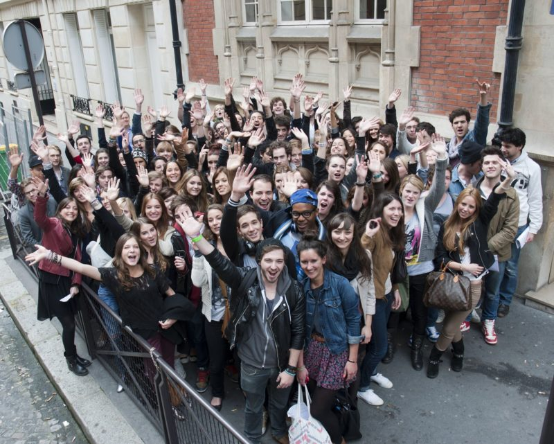 Etudiants de l'ESP Paris