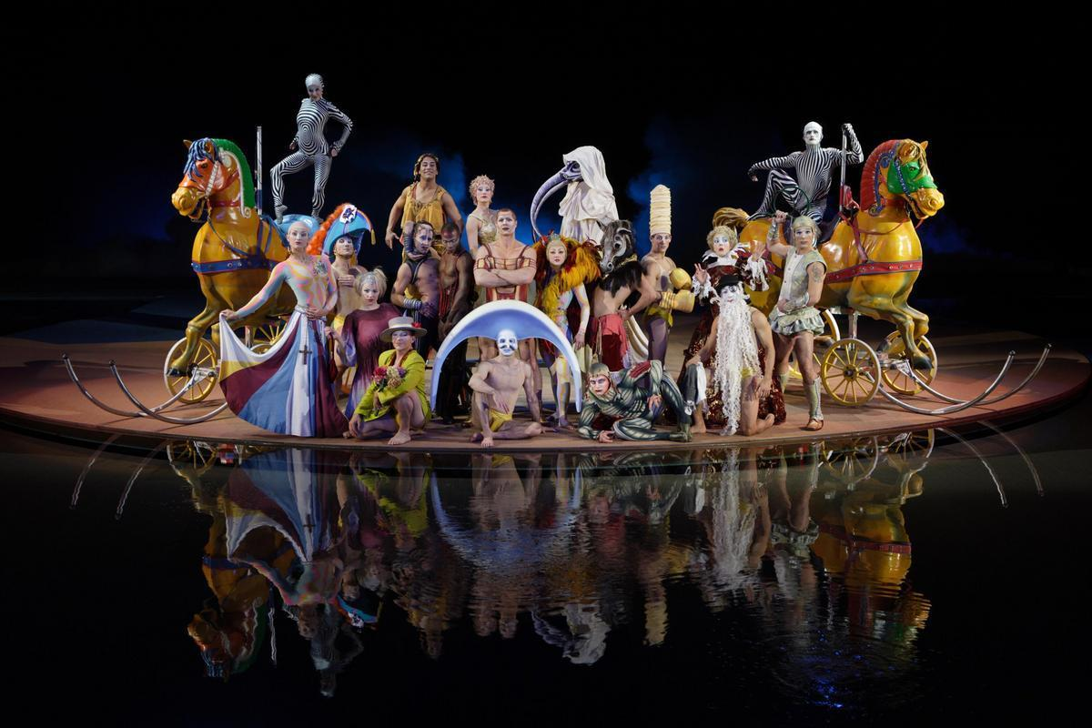 Le cirque du Soleil à Las-Vegas