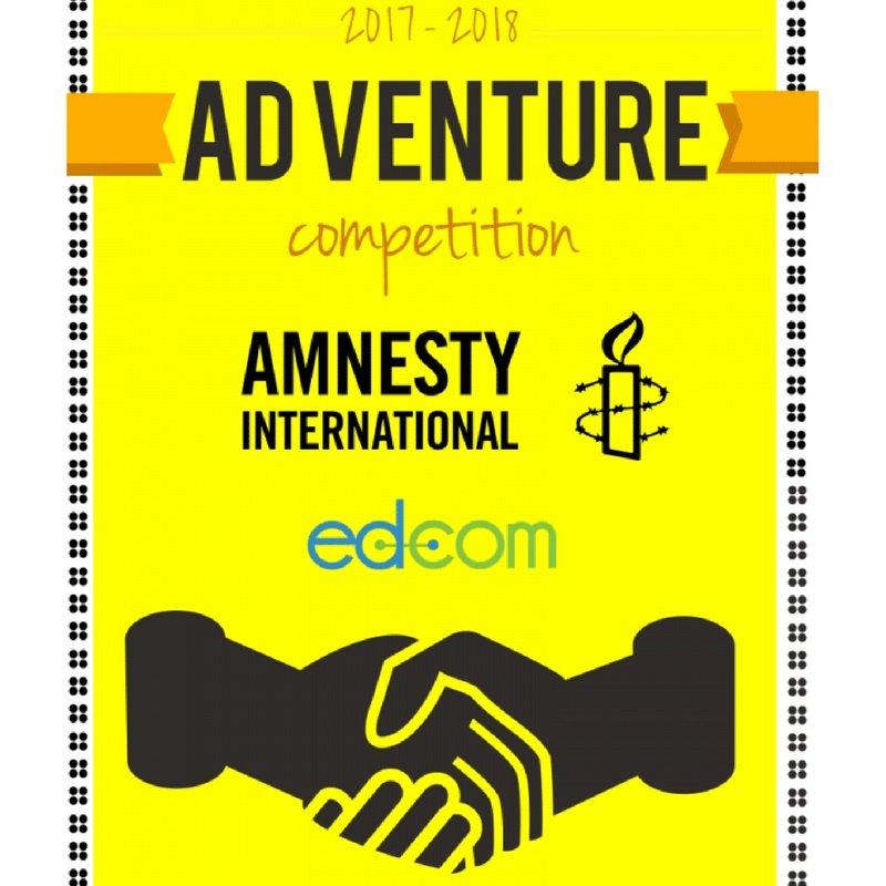 Compétition Européenne ad-vendure au profit d'amnesty international