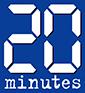 logo 20 minutes, partenaire de l'ESP