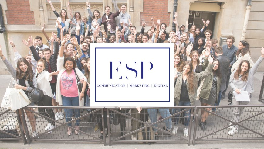 Etudiants en communication à l'ESP Paris