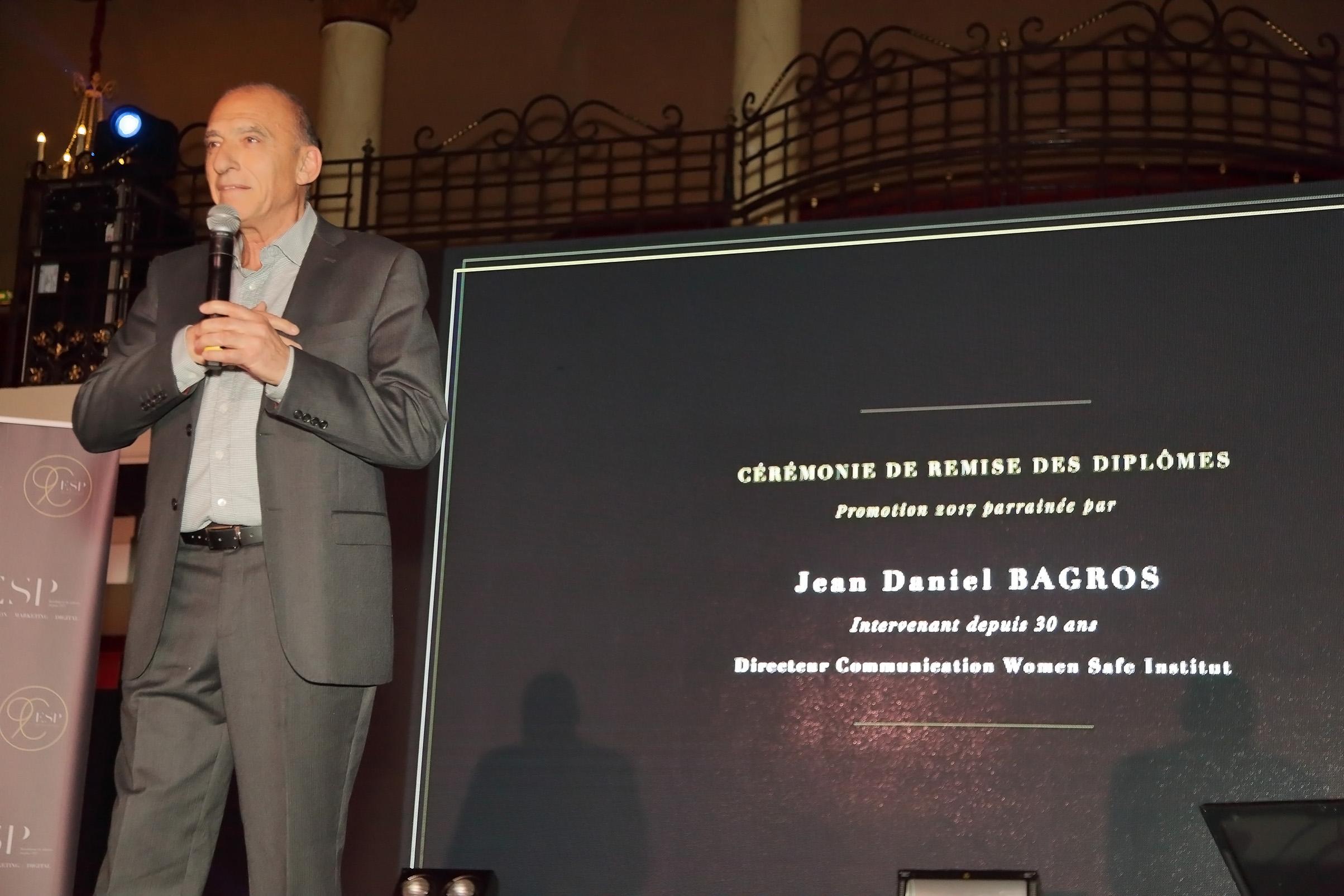 Hommage ESP Jean-Daniel Bagros