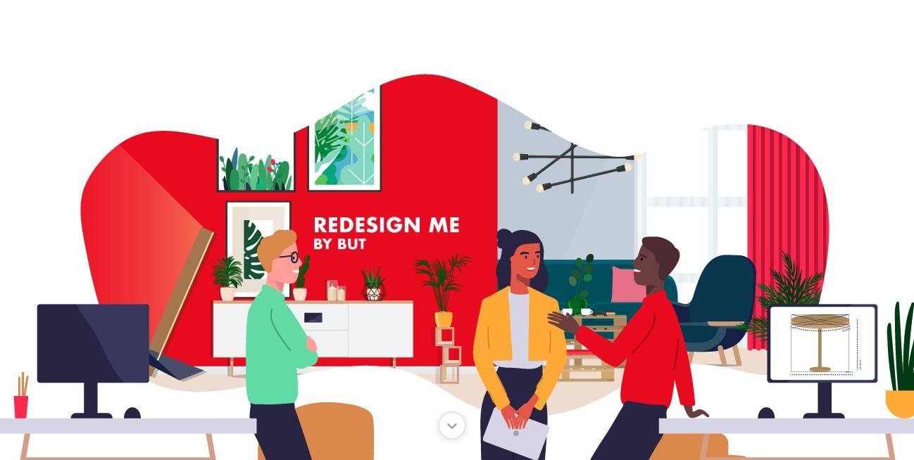 Capture d'écran du Challenge Redesign Me by BUT x Agorize