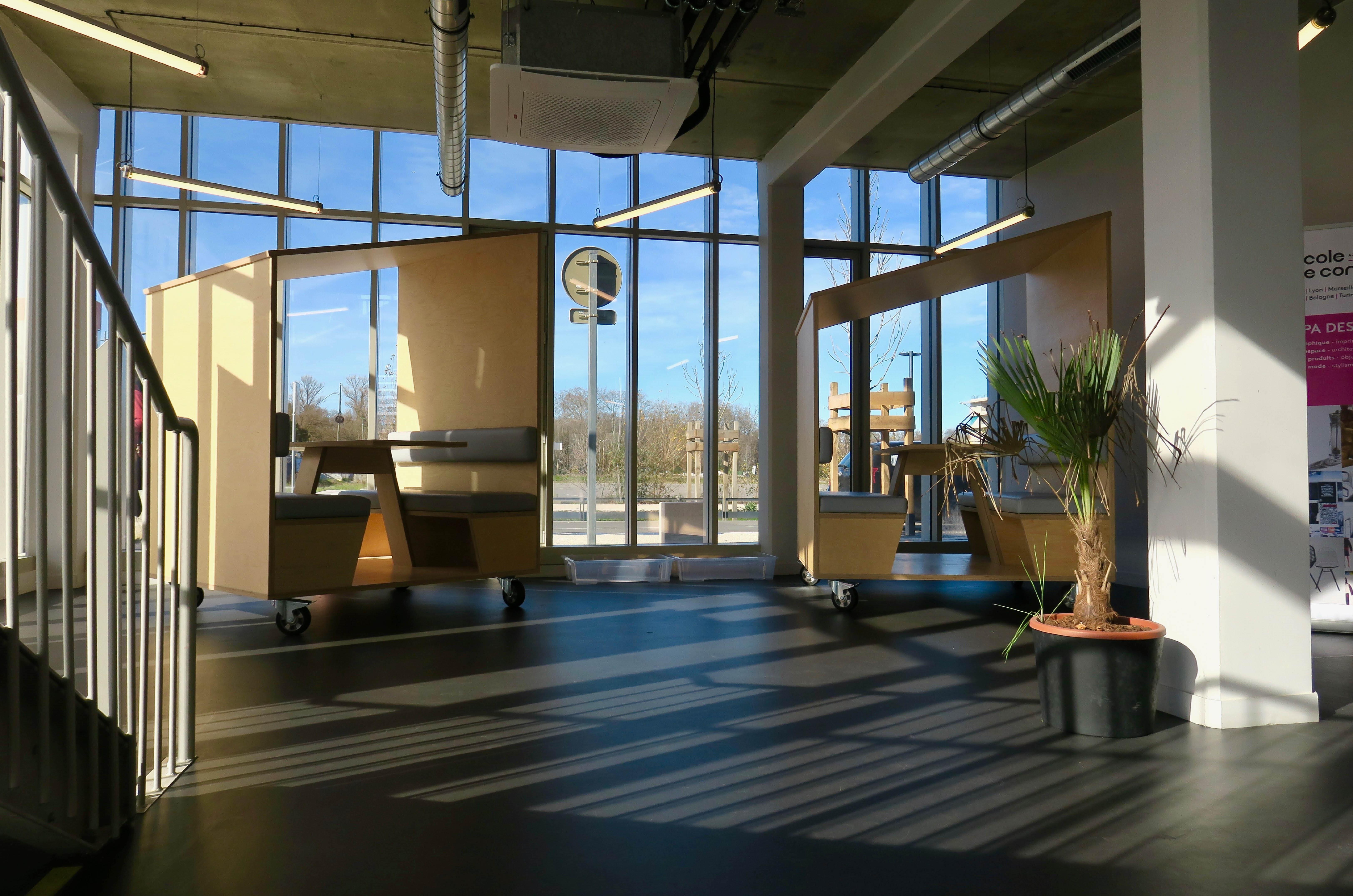 L'espace du campus ESP Toulouse