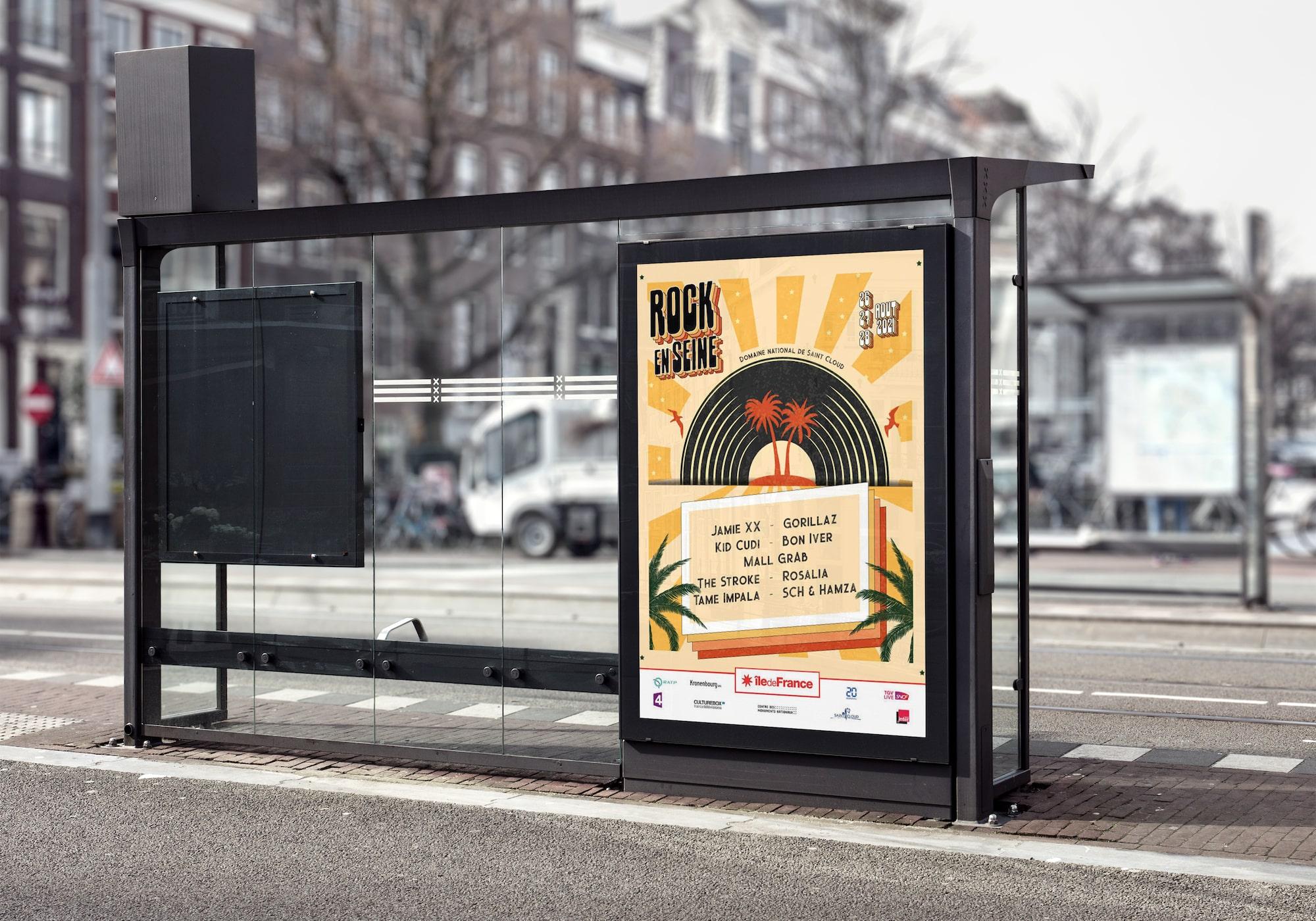 affiche-festival-musique-rock-en-seine-cours-direction-artistique
