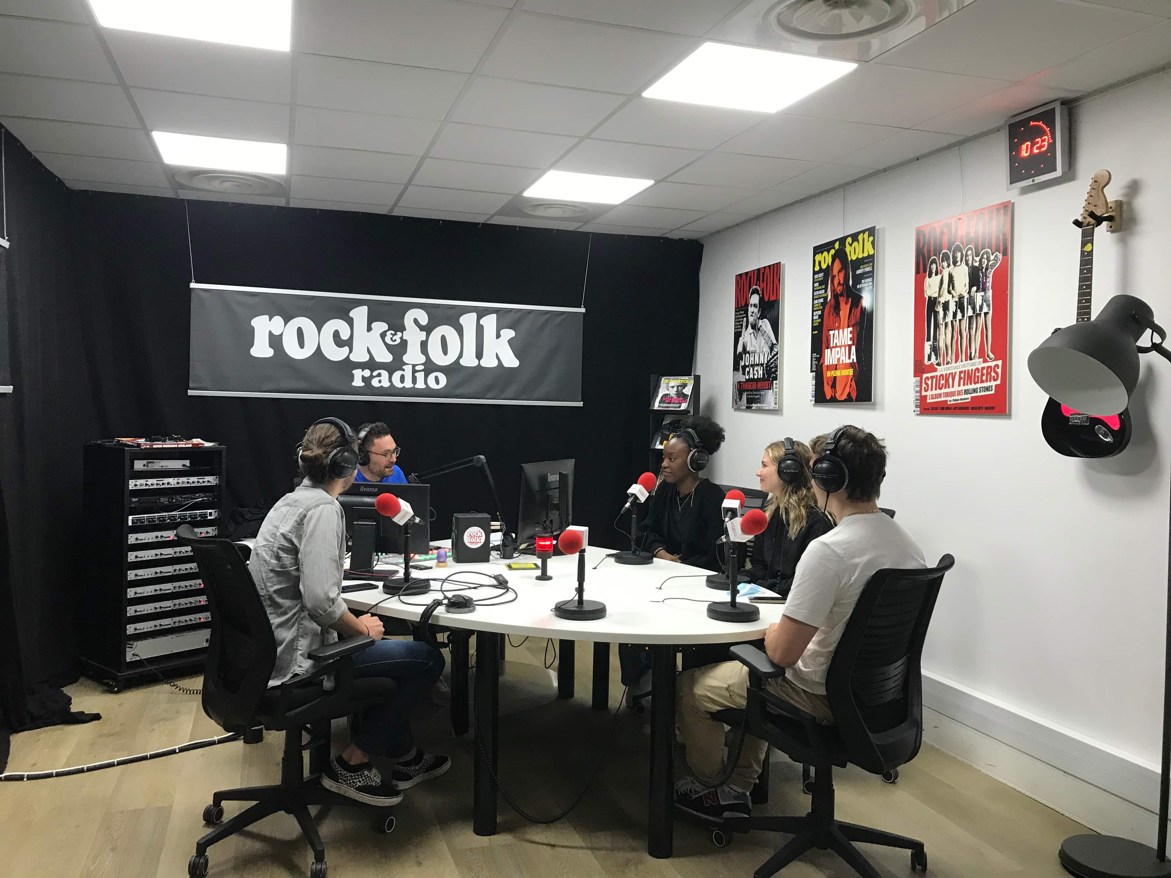 Live radio Rock&Flok compétition ESP